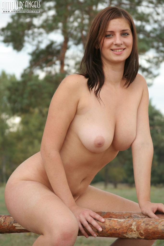 Nude women flashing in public